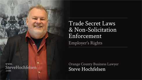 Trade Secret Laws & Non-Solicitation Enforcement